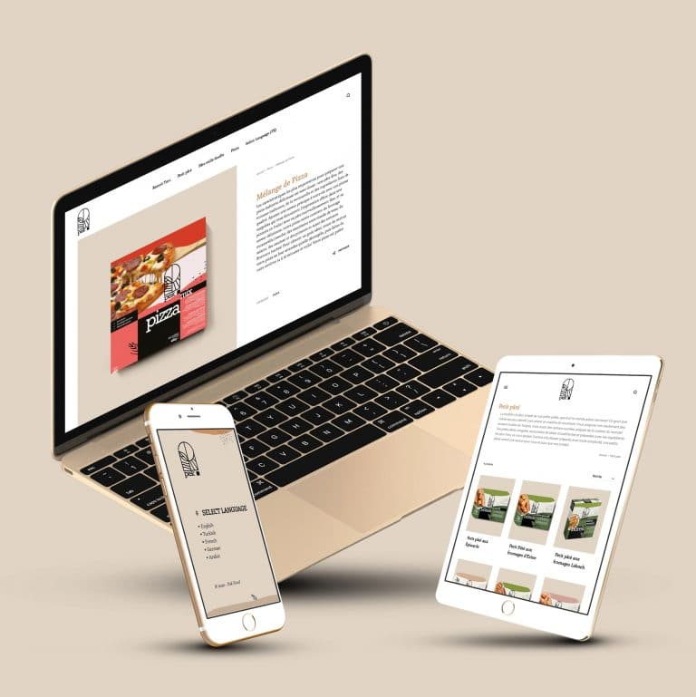 Pek Food WordPress Website v2