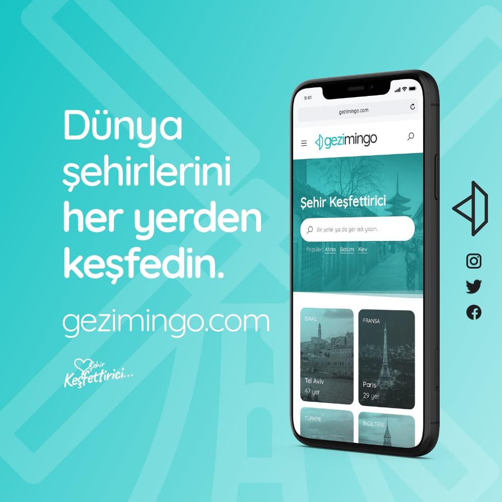 Gezimingo Travel WordPress Website and Branding